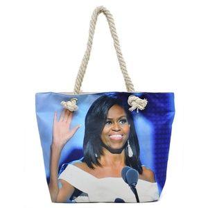 Michelle Obama Cotton Shoulder/Tote Bag